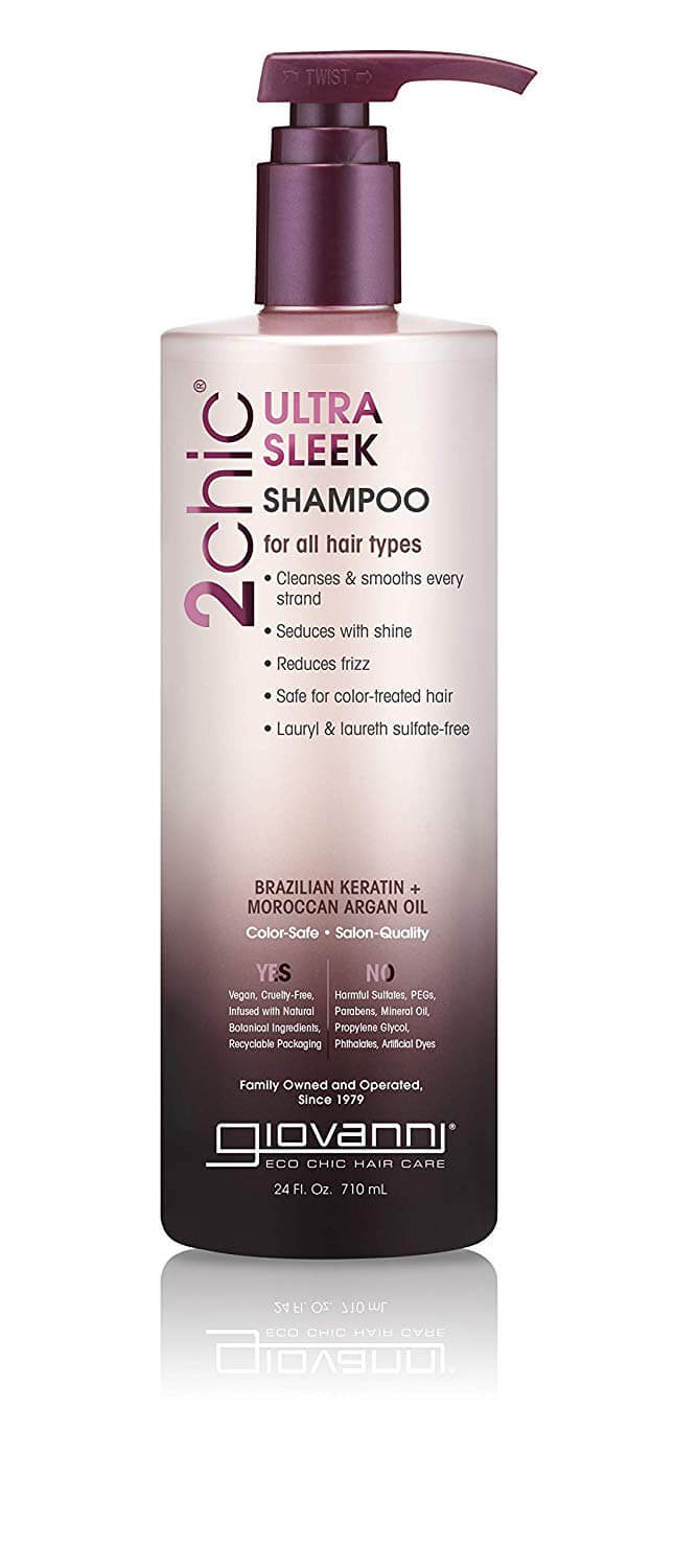 giovanni 2chich ultra sleek shampoo for hair glow up