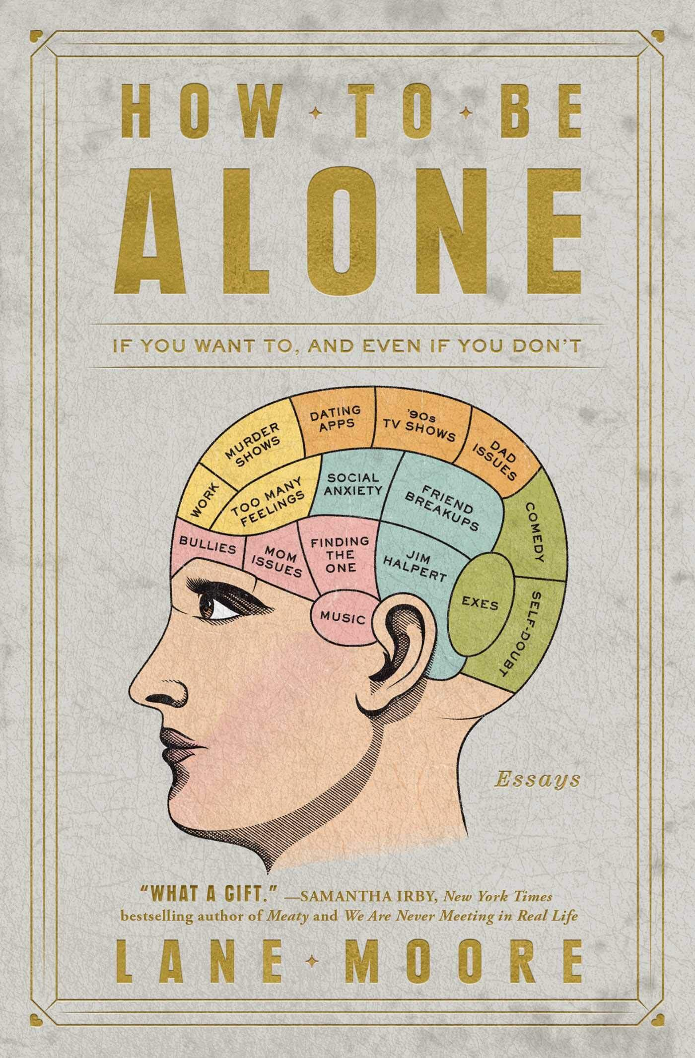 how to be alone the book