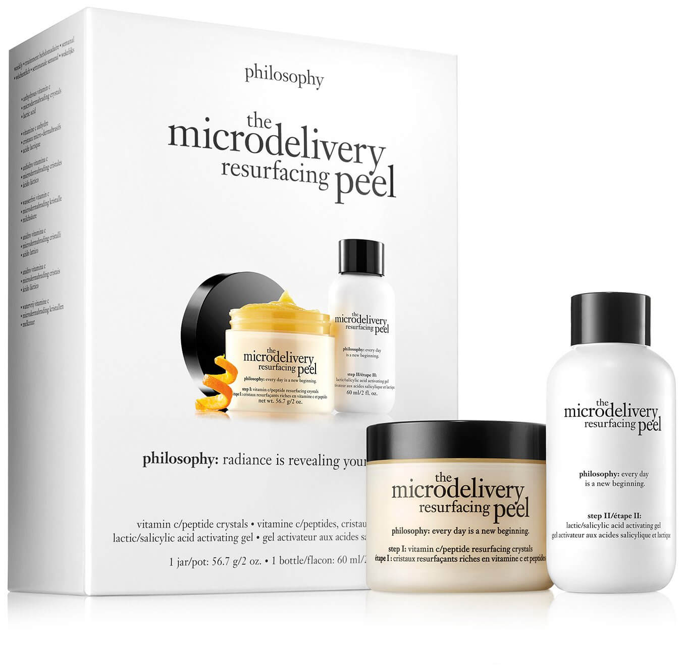 philosophy microdelivery resurfacing peel as a recommended product to achieve good skin