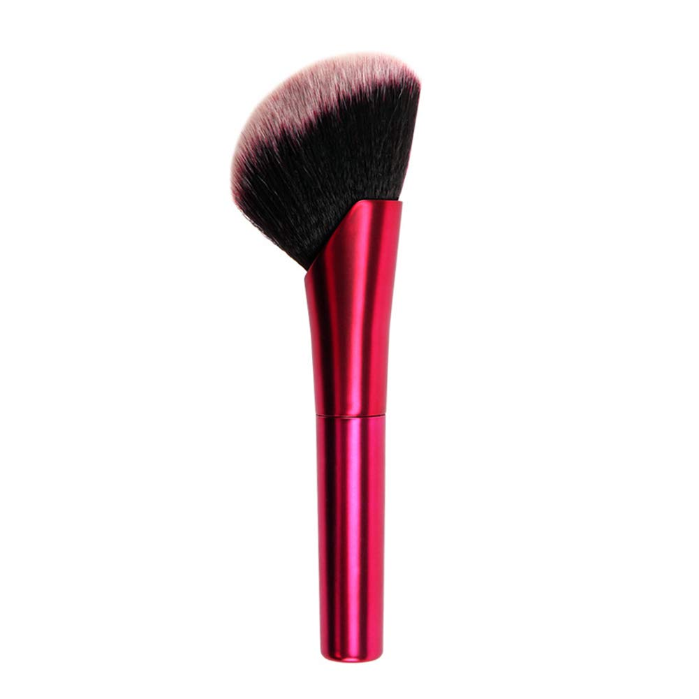 Red bronzer application brush