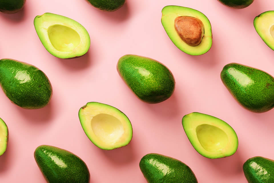 Avocados displayed as one of the best foods that fight inflammation