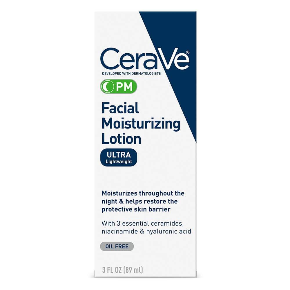 Moisturizer for oily skin CeraVe Moisturizing Lotion PM