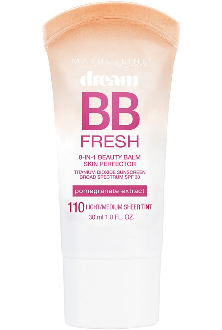 A makeup essential - bottle of Maybelline Dream BB Fresh Beauty Balm