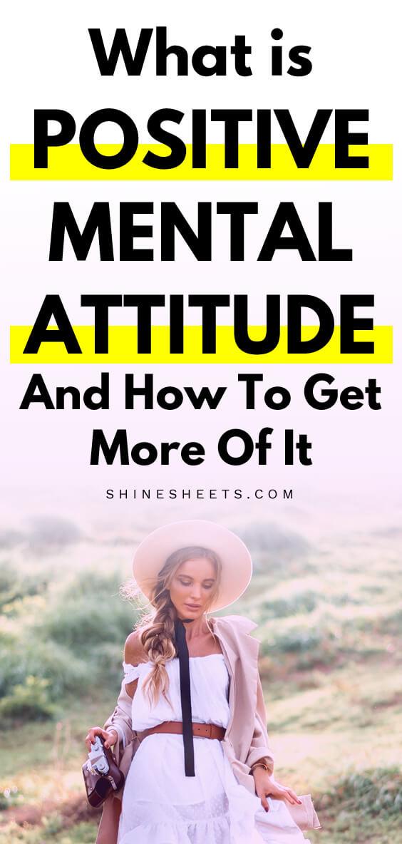 positive mental attitude