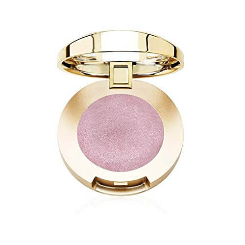 Blushy shimmery pink natural eyeshadow color in a box