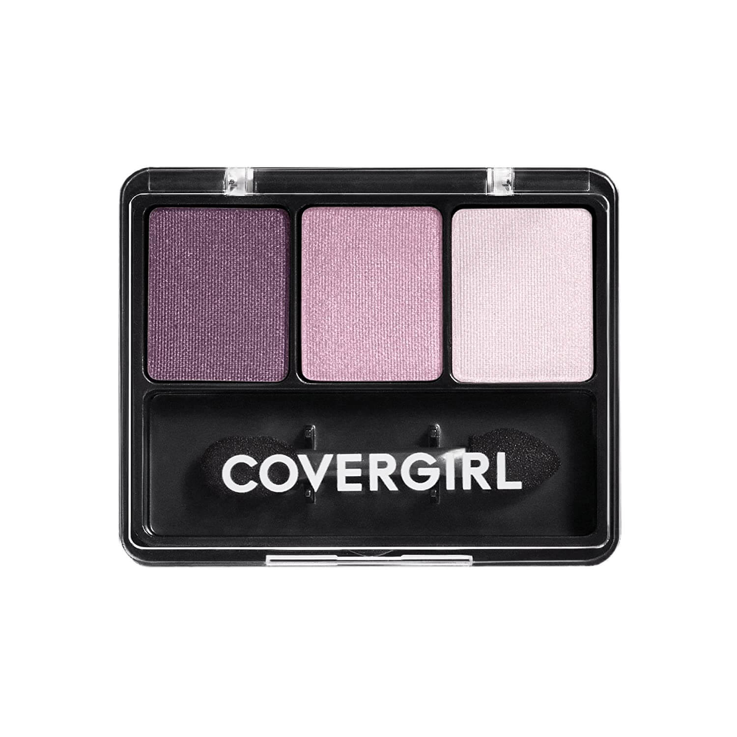 Blush purple palette of natural eyeshadow colors
