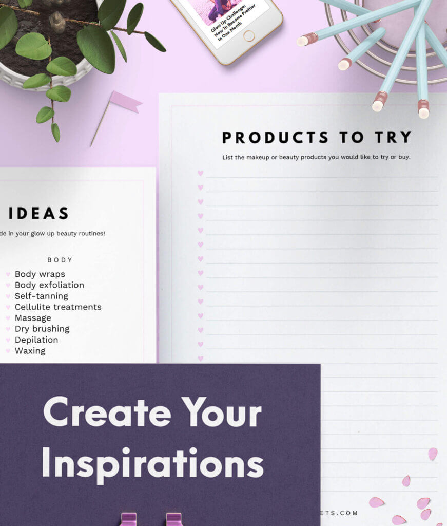 Glow Up Planner 5