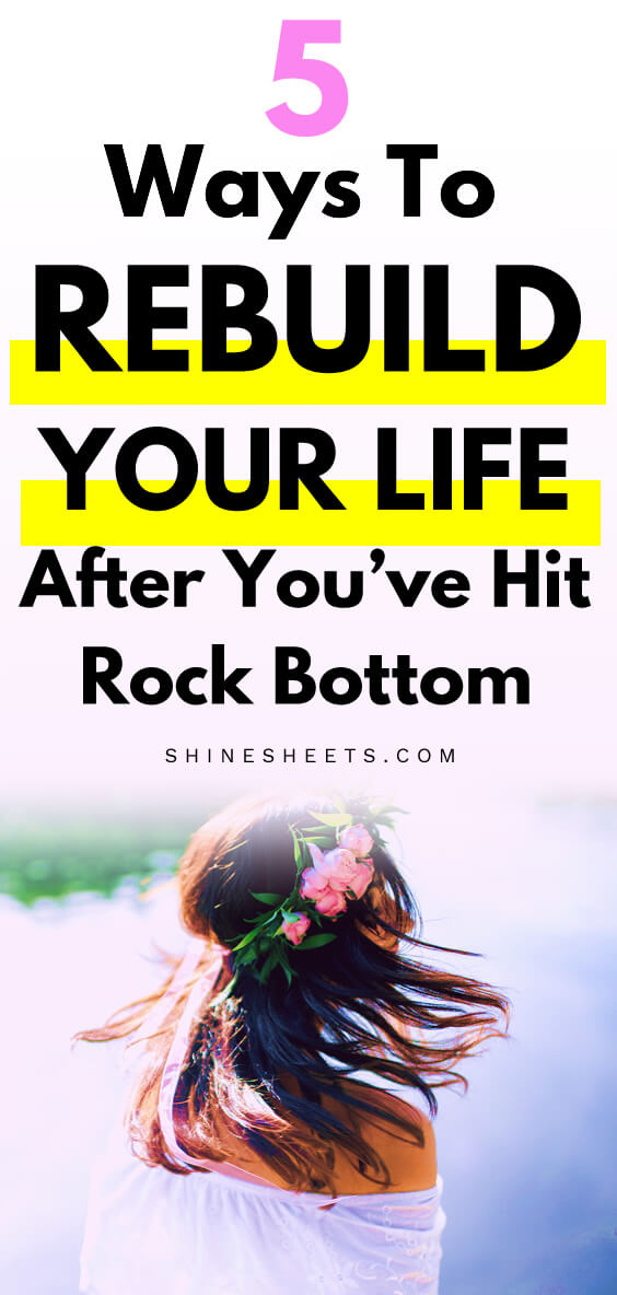 hit rock bottom