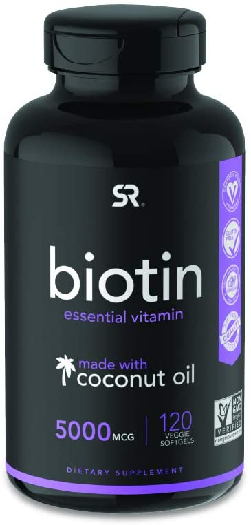 Biotin supplement for brittle nails, hair and skin