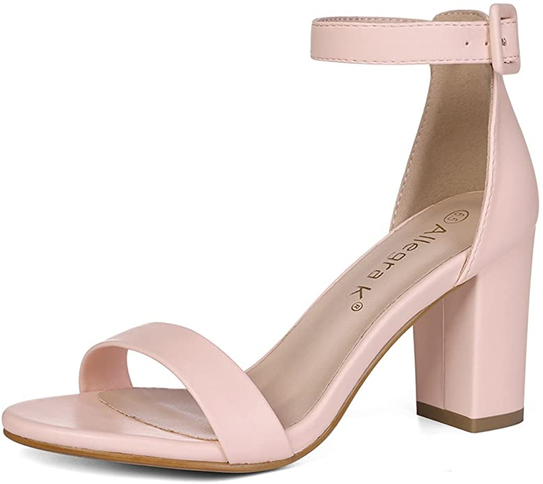 Pink Allegra K pumps as an idea on how to be pretty with shoe style