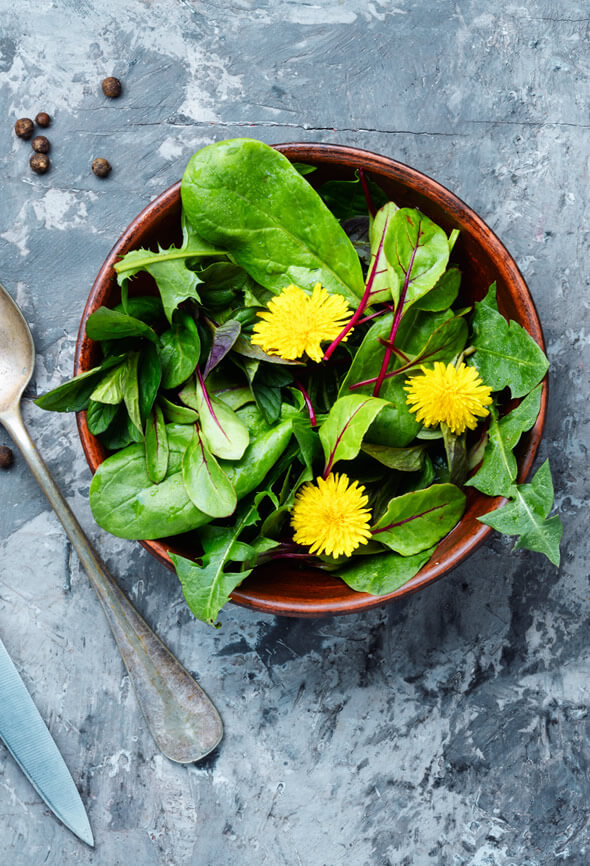 leafy greens as superfoods