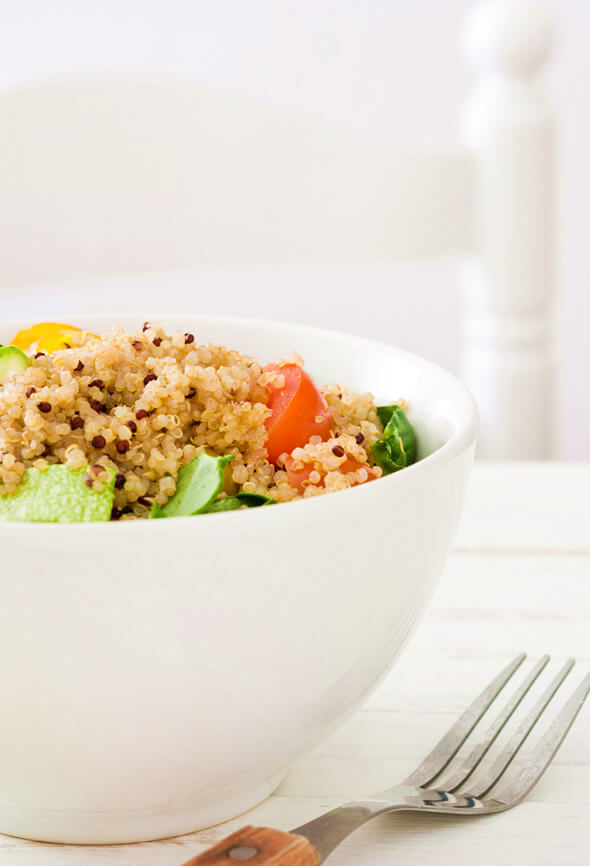 quinoa salad as on the best superfoods