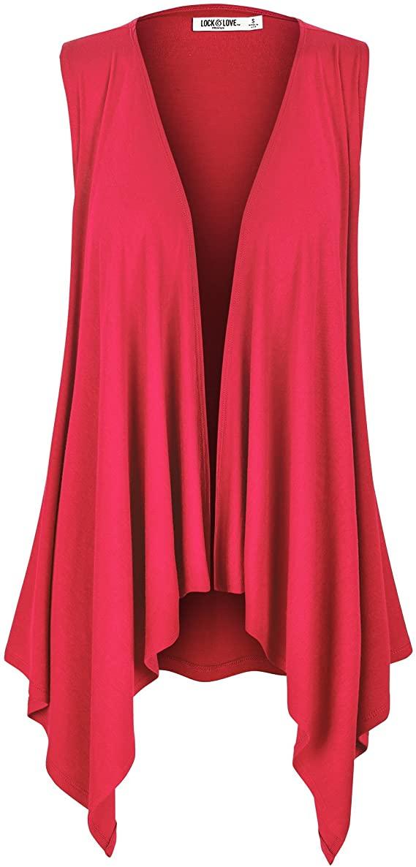 red vest flowy
