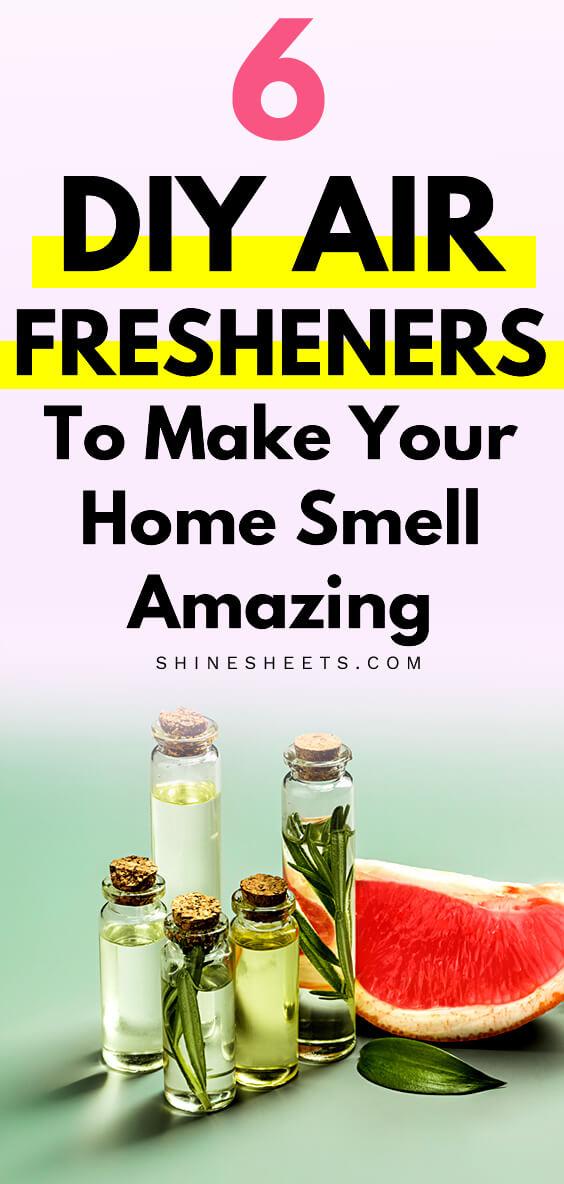 diy air fresheners homemade