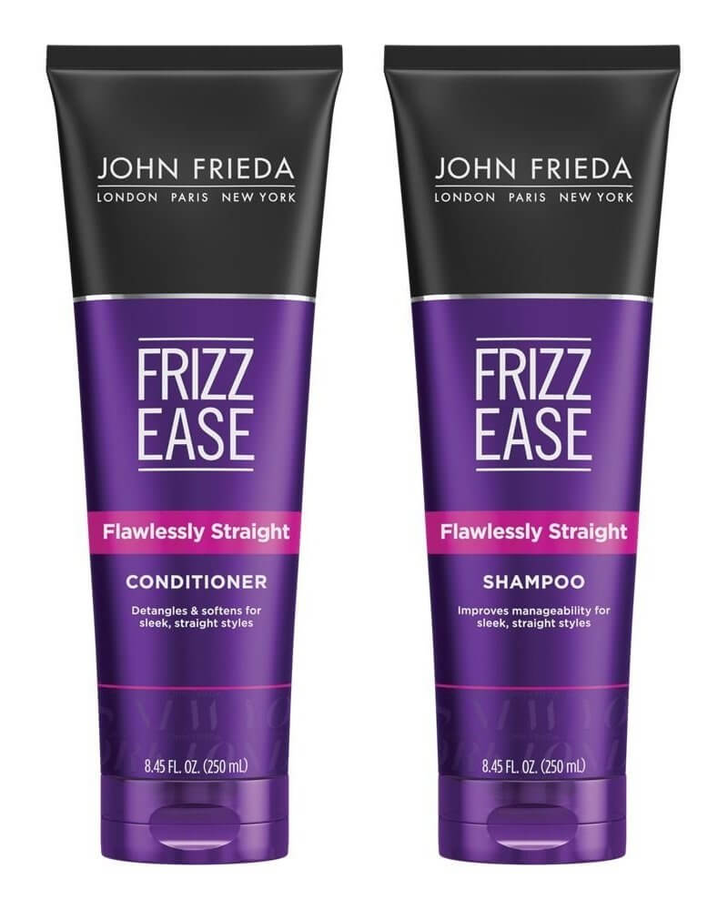 John Frieda Frizz-Ease Flawlessly Straight Shampoo and Conditioner Duo Set