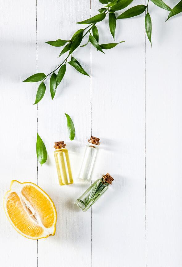 lemon essential oil blends