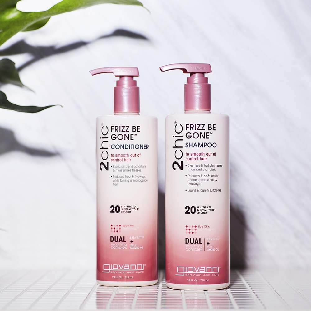 GIOVANNI 2chic Frizz Be Gone Conditioner and shampoo