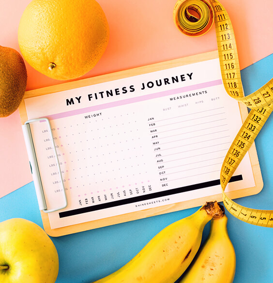 Free Weight Loss Tracker Printable - Track Your Fitness Achievements