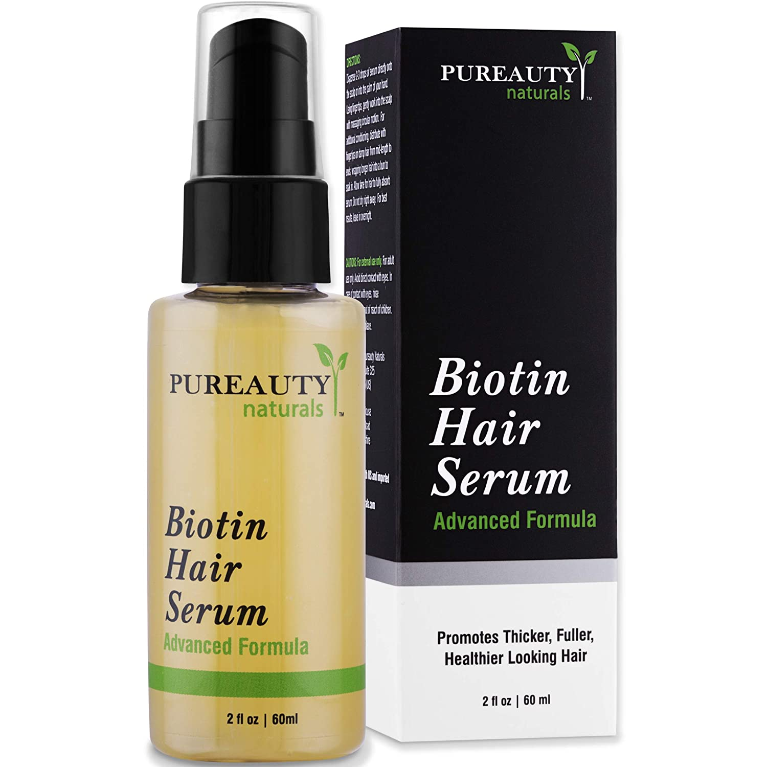 Biotin Hair Growth Serum Advanced Topical Formula To Help Grow Healthy, Strong Hair