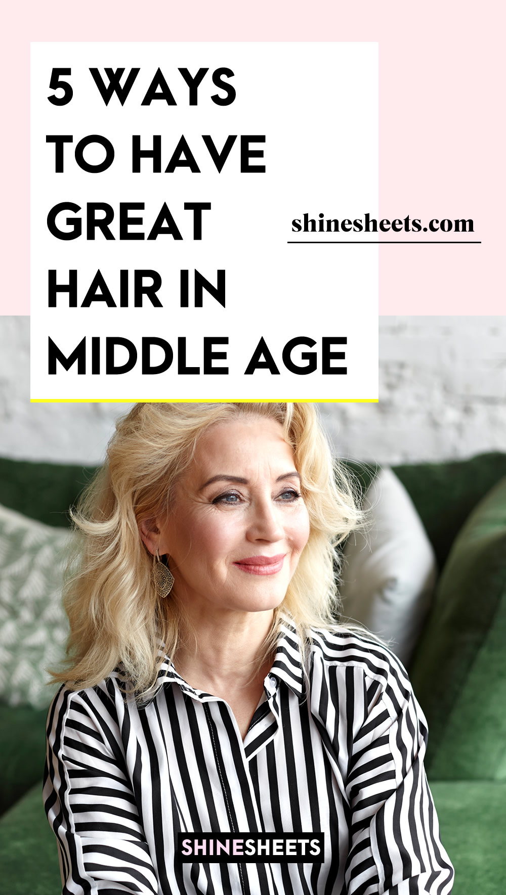 MIDDLE AGED WOMAN WITH GREAT HAIR