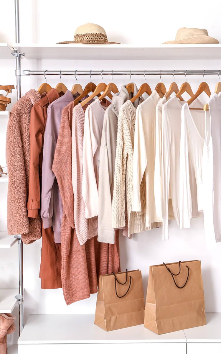 closet organization example