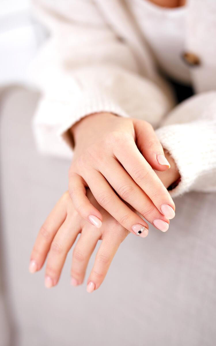 perfect natural everyday nails