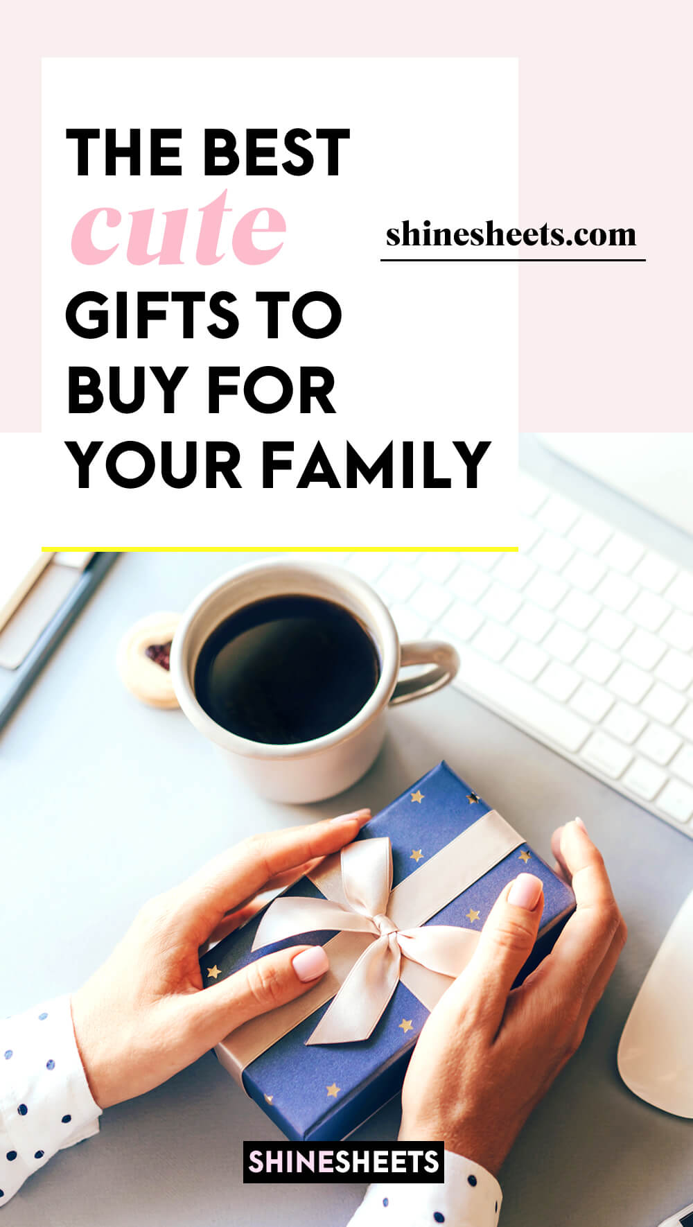 woman holding a cute traditional gift for her family