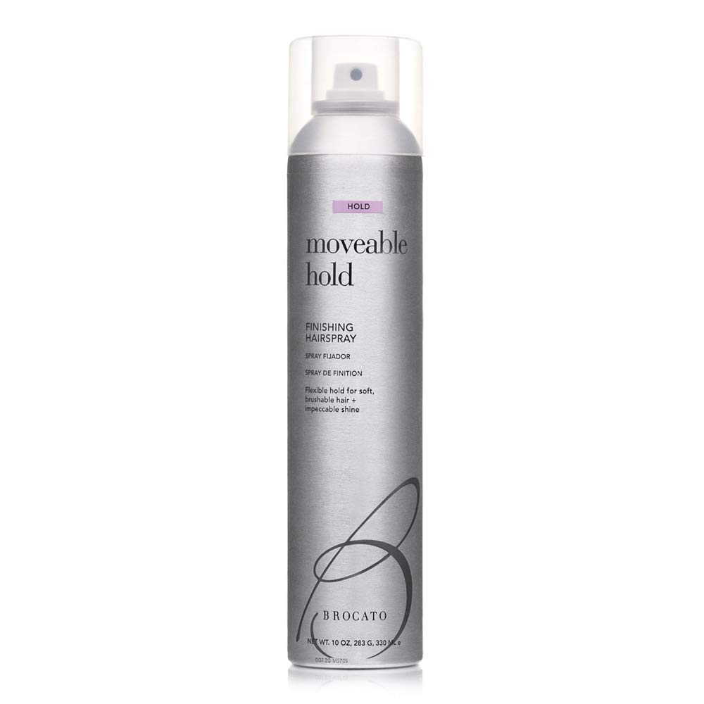 Brocato Moveable Hold Flexible Hairspray by Beautopia Hair: Anti-Humidity