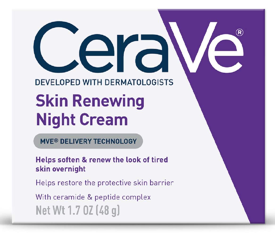 CeraVe Skin Renewing Night Cream for mature skin