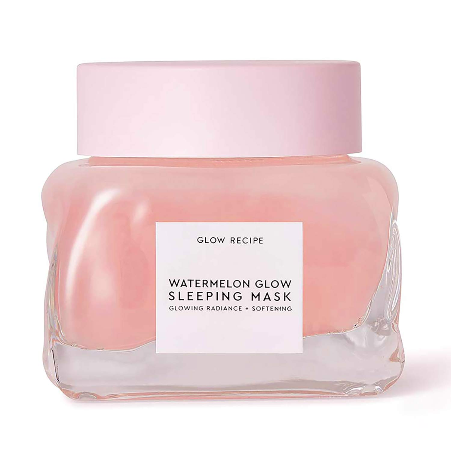 Glow Recipe Watermelon Glow Sleeping Mask - Exfoliating, Anti-Aging + Brightening Overnight Face Mask with AHA, Hyaluronic Acid + Pumpkin Seed Extract