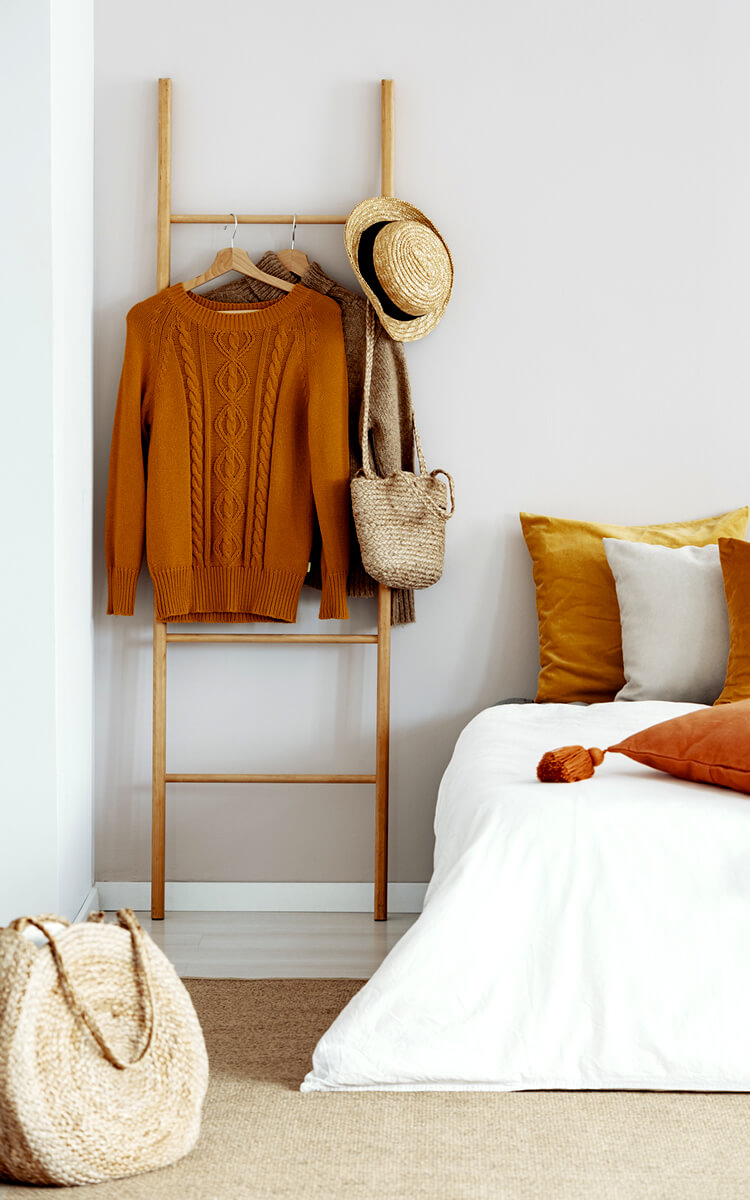 clothes prepared as a way to be productive at home
