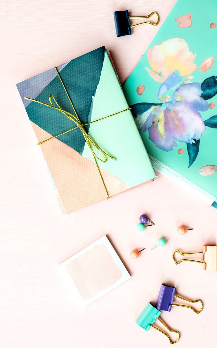pretty planner as a way to be productive at home