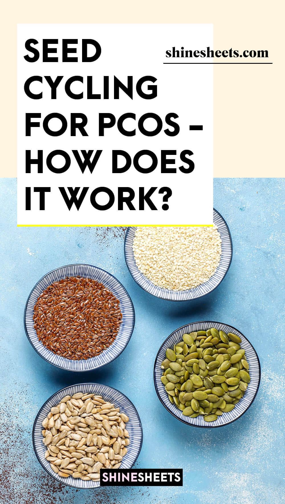 seeds that are used in seed cycling for pcos