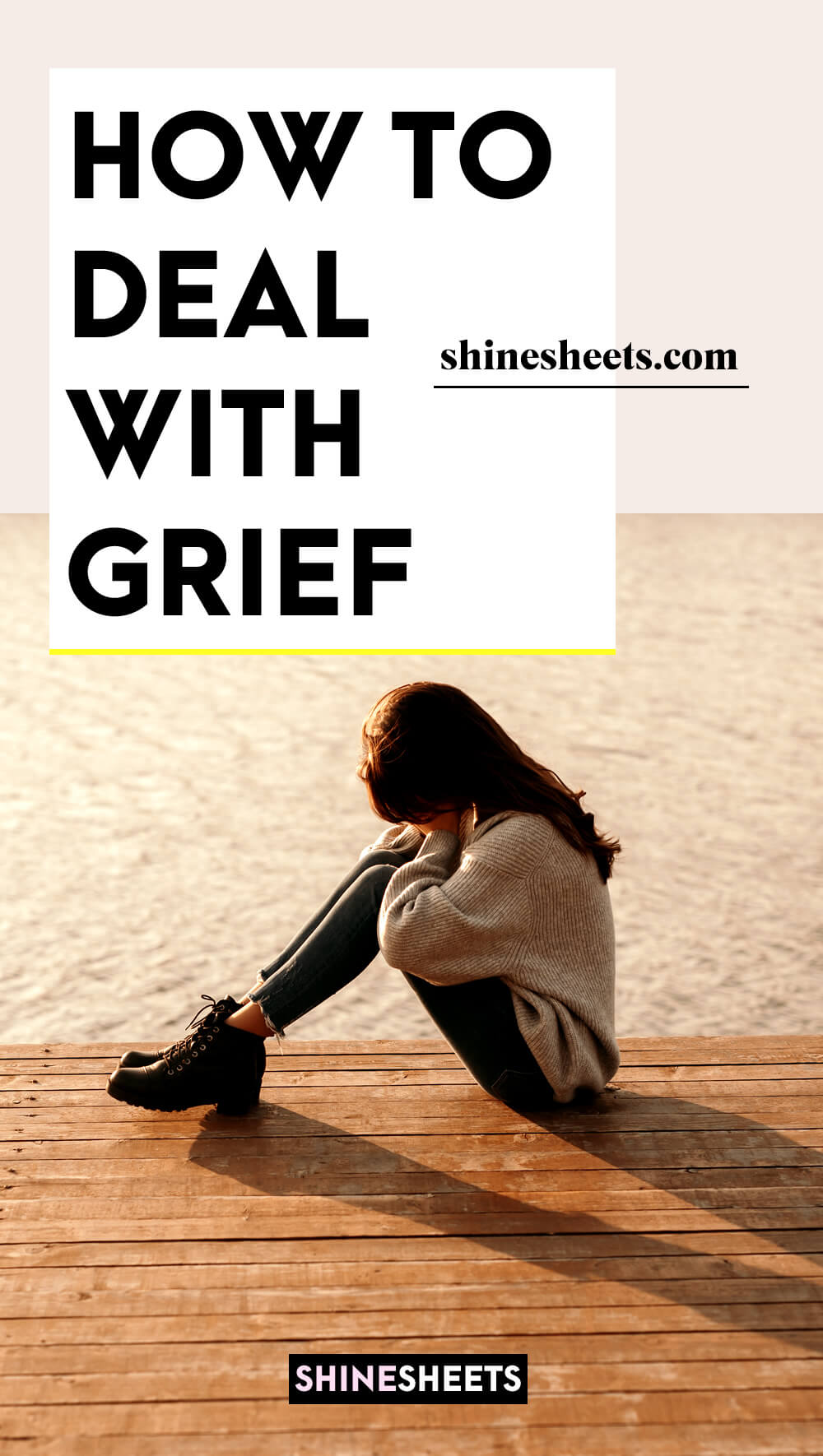 woman in grief