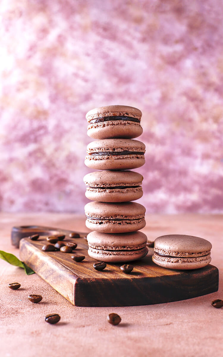 macaroons cookies as mother's day gift idea