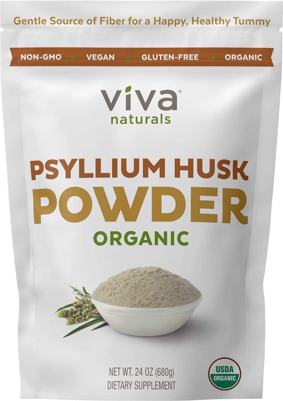 Organic Psyllium Husk Powder Isabgol