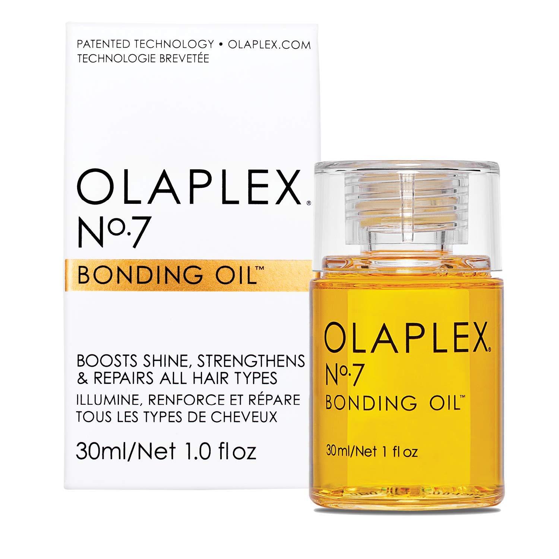 Olaplex No. 7 Bonding Oil as oil-based finishing product for curly hair