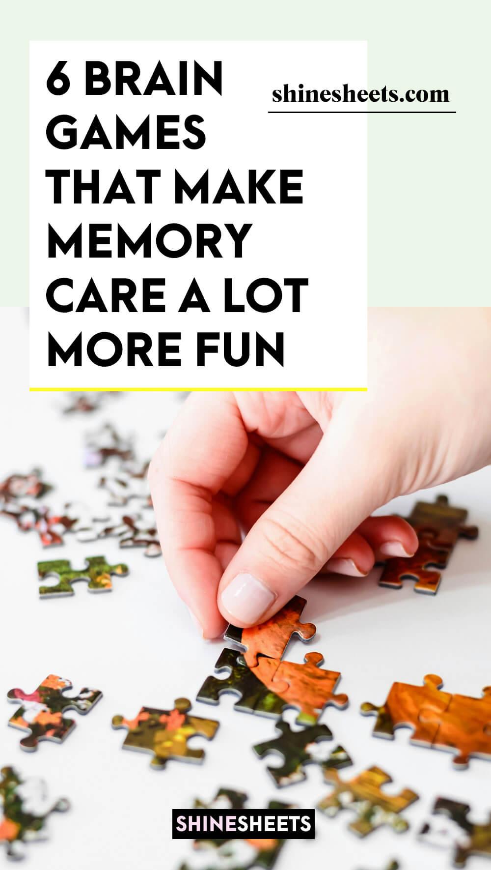 MEMORY CARE PUZZLE