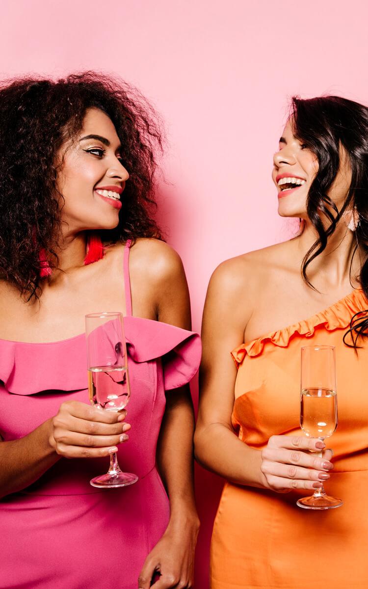 women having fun without men