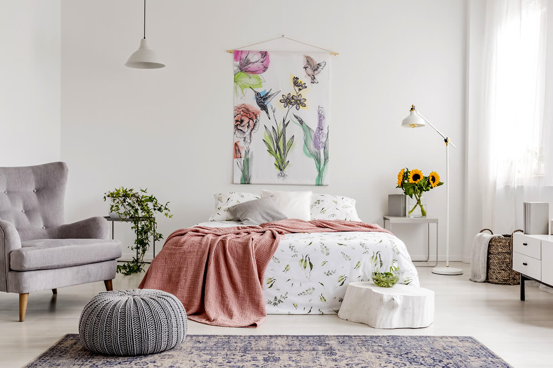 fabric wall decor