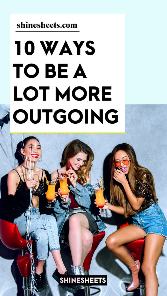 outgoing women having a party