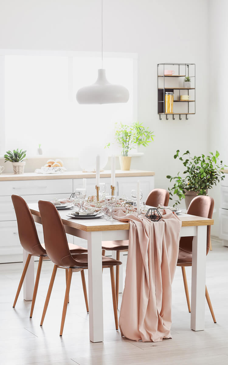 flexible dining area accessories