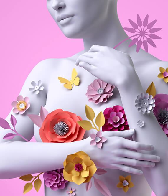 breast art illustration